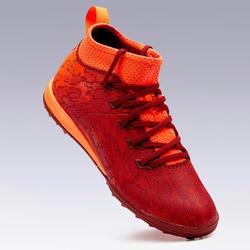 Chaussure de football enfant terrains durs Agility 900 HG Rouge / Orange