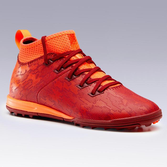 Voetbalschoenen voor kinderen Agility 900 HG hard terrein rood / oranje