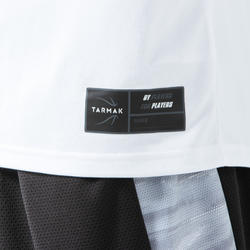 男款籃球T恤/運動衫TS500-白色附6框圖片
