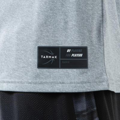 Men's Basketball T-Shirt / Jersey TS500 - Grey Basket