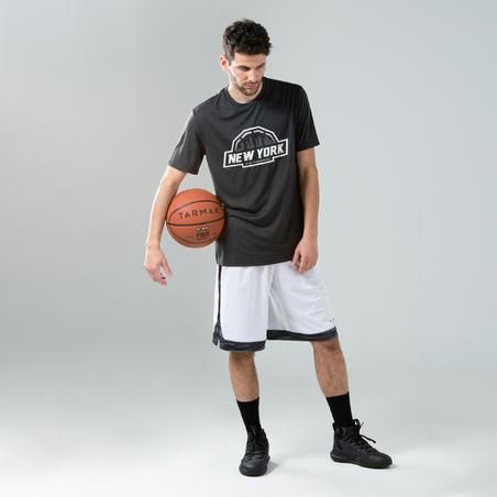Men's Basketball T-Shirt / Jersey TS500 - Black Anthracite