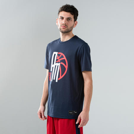 Men's Basketball T-Shirt / Jersey TS500 - Navy Assists Maker