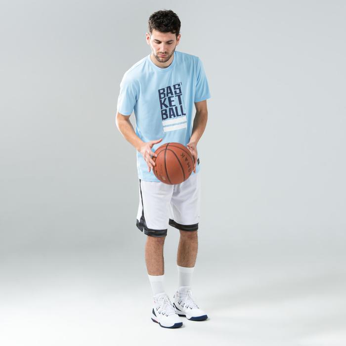 Men's Basketball T-Shirt / Jersey TS500 - Blue/Blue Street