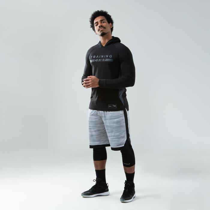 Basketbalschoenen voor heren SC500 hoog model zwart