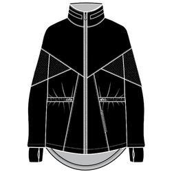 女款有氧健身訓練外套500 - 黑色