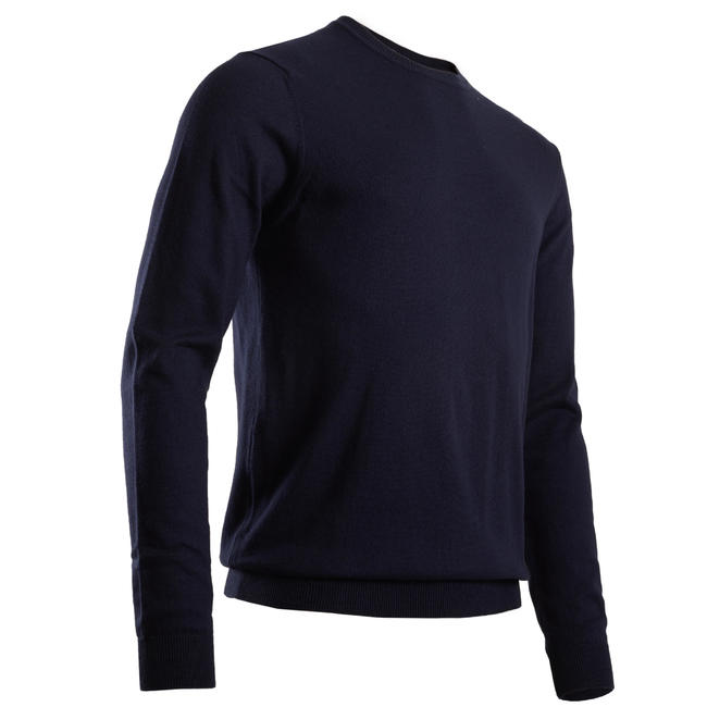 Men's Golf Pullover - Navy Blue