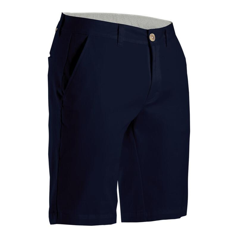 Golfshort voor heren marineblauw