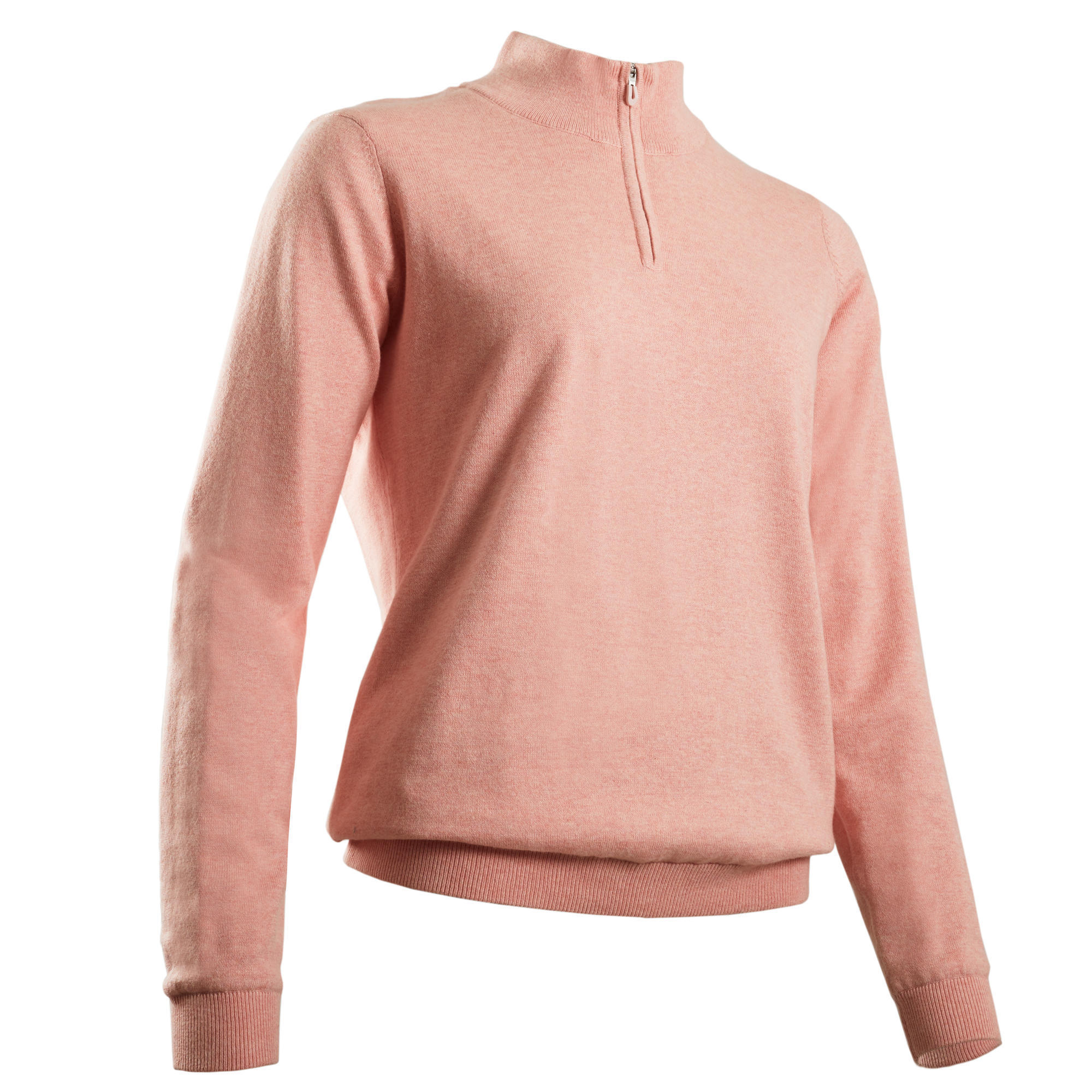 PULL COUPE VENT DE GOLF FEMME TEMPS TEMPERE ROSE | Inesis Golf