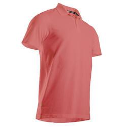 Golfpolo voor heren oud roze