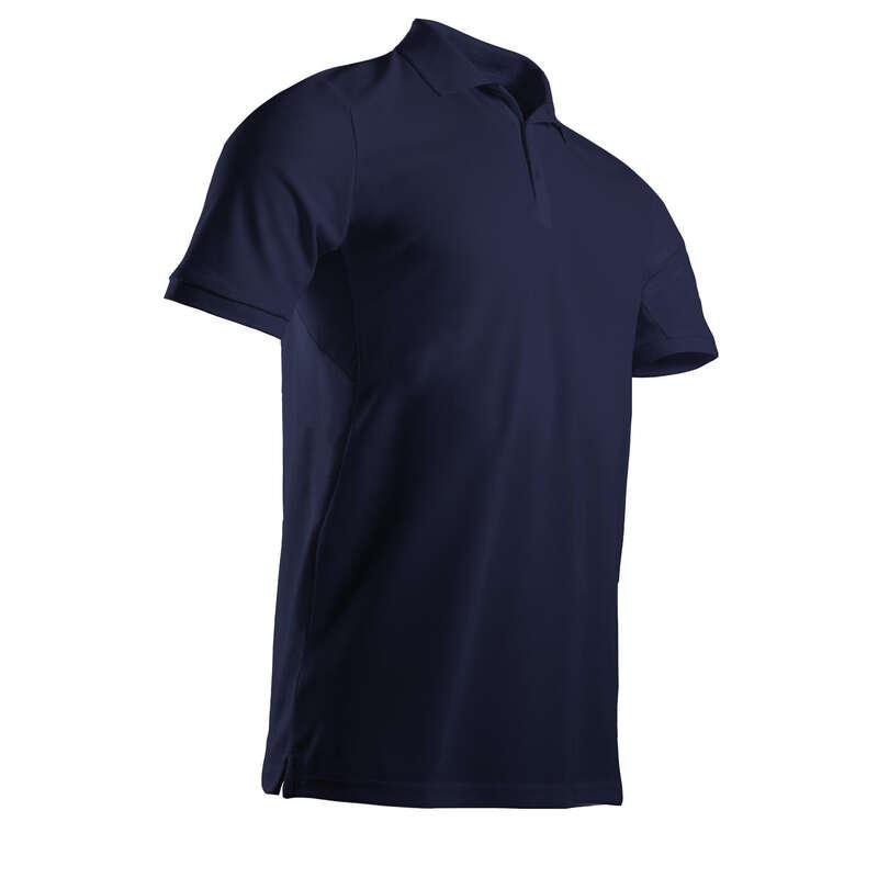 MENS WARM WEATHER GOLF CLOTHING Golf - Men's Light Polo Shirt - Navy INESIS - Golf Clothing