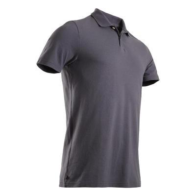Men's Golf Polo Shirt - Basic Grey
