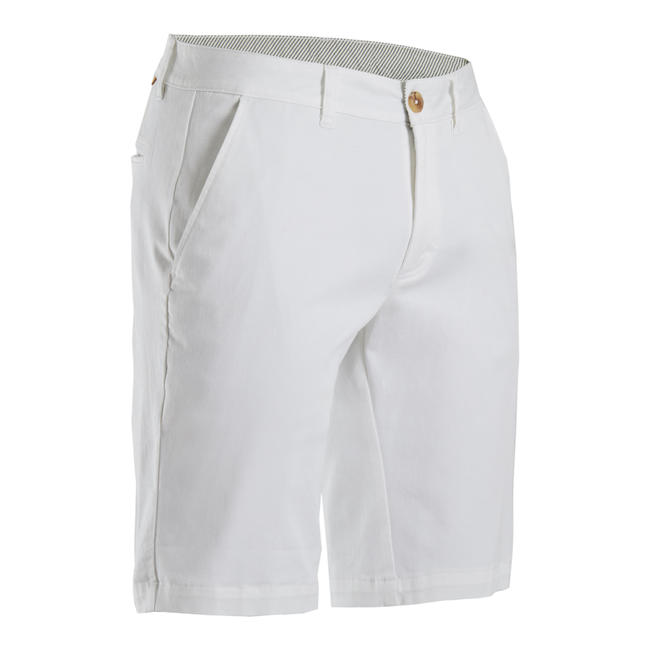 Men's Golf Shorts - White