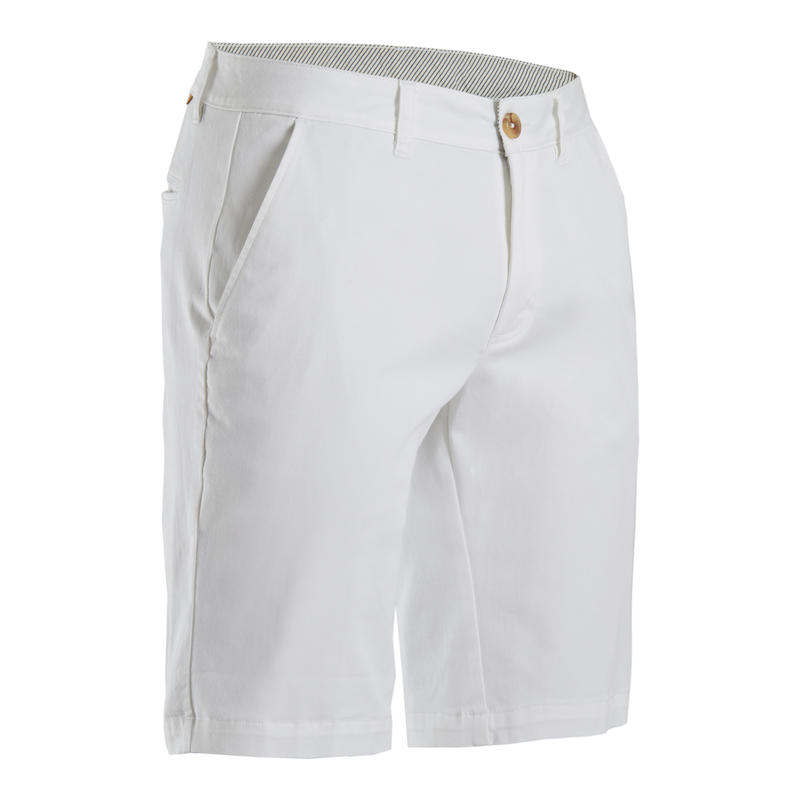 SHORT GOLF HOMME BLANC