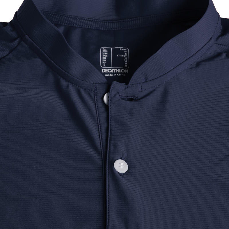 Men's golf short-sleeved polo shirt WW900 navy blue