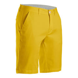 Short de golf homme MW500 ocre