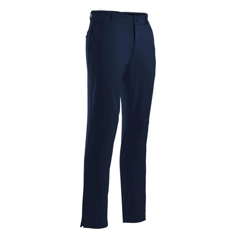 Men's golf trousers WW500 navy blue