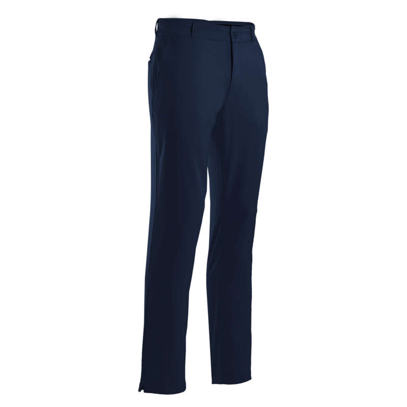 MENS WARM WEATHER GOLF CLOTHING Golf - MEN'S WW TROUSERS - NAVY INESIS - Golf Clothing