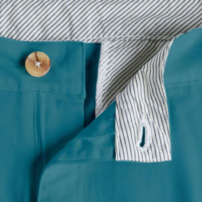 Golfshort voor heren turquoise