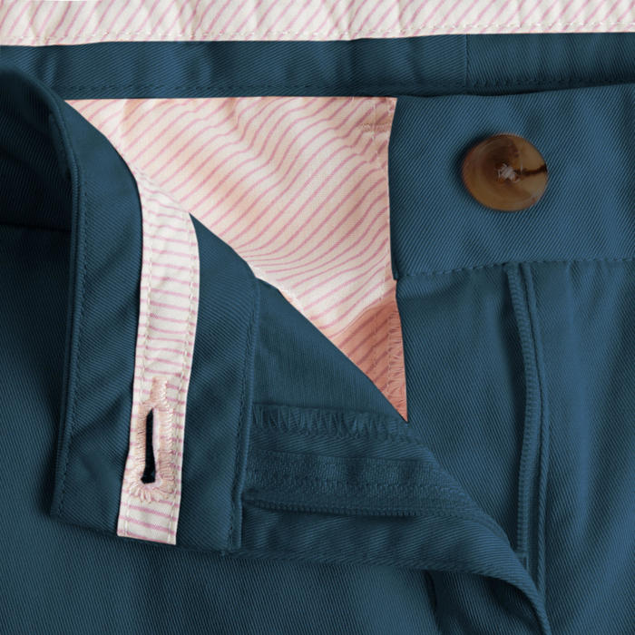 Golfbroek voor dames donkerpetrolblauw