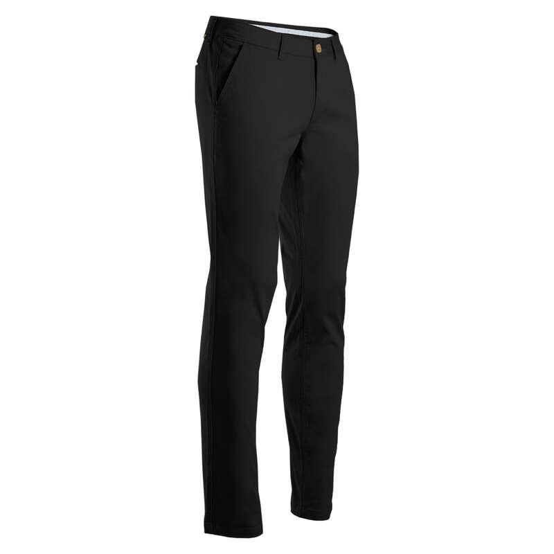 [EN] MEN GOLF TROUSERS MILD WEATHER Imbracaminte - Pantalon Golf Negru Bărbaţi INESIS - Pantaloni