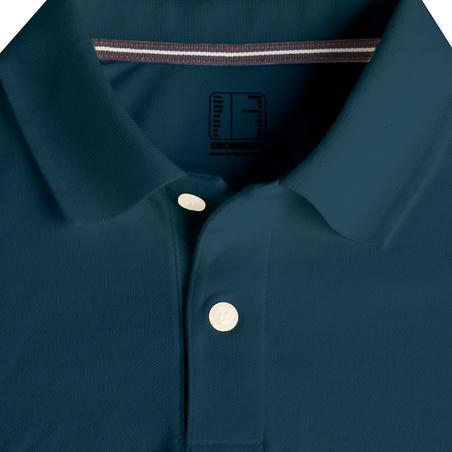 Men's Golf Short Sleeve Polo Shirt - Petrol