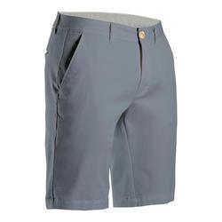 Golfshort voor heren grijs