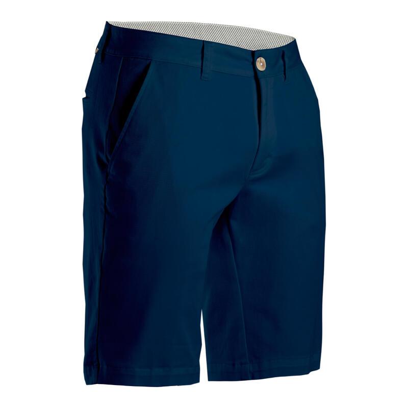Golfshort voor heren MW500 marineblauw