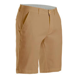 Short de golf homme MW500 beige