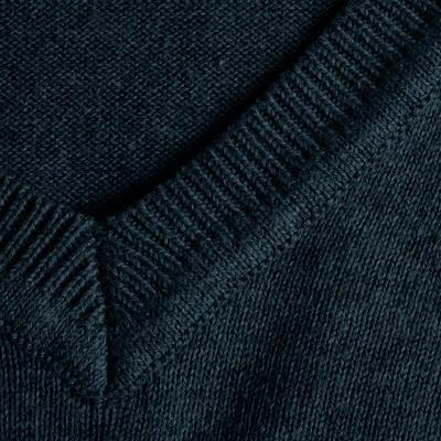 Men's Golf V-Neck Pullover - Navy Blue