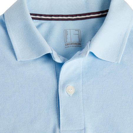 Men's Golf Short Sleeve Polo Shirt - Sky Blue