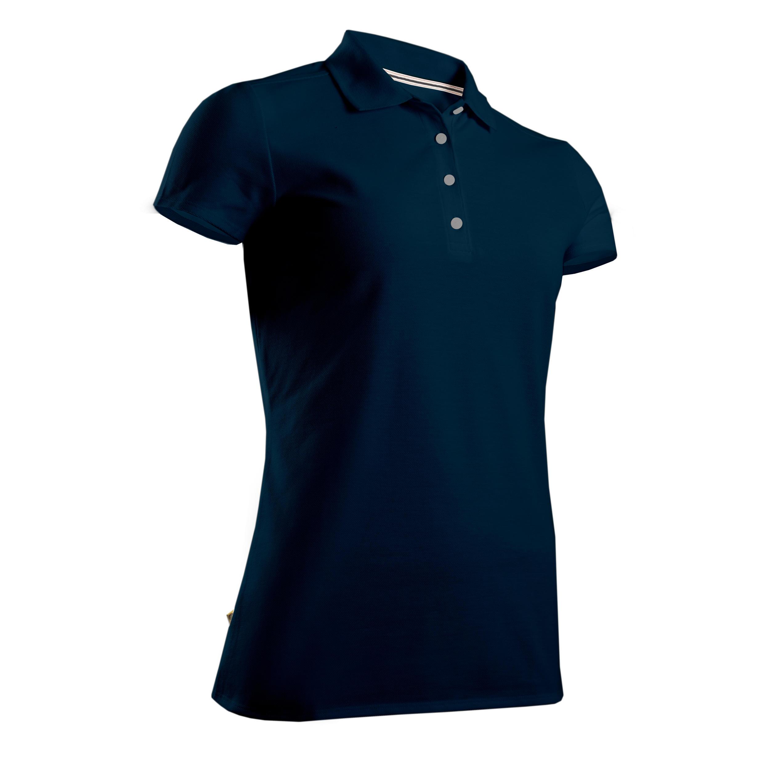 Golf Poloshirt Damen | Bekleidung > Shirts > Poloshirts | Inesis
