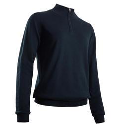 Camisola de Golf Corta-Vento MW500 Mulher Azul marinho
