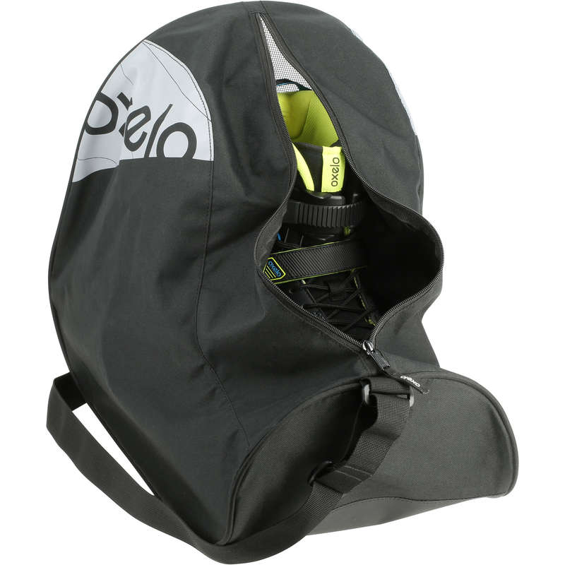 BAGS AND ACCESORIES Ice Skating - Fit Skate Bag 32 Litres Black OXELO - Ice Skating