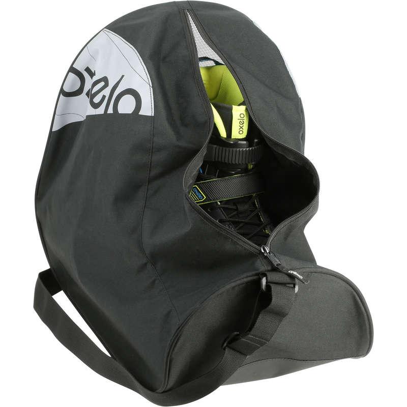 Взрослая защита Для детей - Сумка для коньков/роликов FIT черная OXELO - Аксессуары для обуви