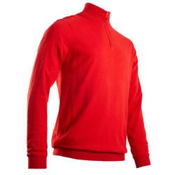 Camisola Corta-vento de Golf MW500 Homem Vermelho