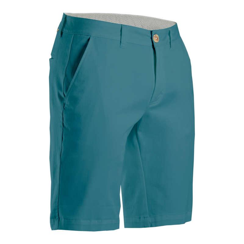 MENS MILD WEATHER GOLF CLOTHING Golf - Men's Golf Shorts - Turquoise INESIS - Golf Clothing