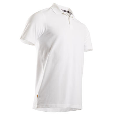 Men's Golf Short Sleeve Polo Shirt - White
