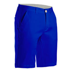 Golfshort voor heren indigoblauw