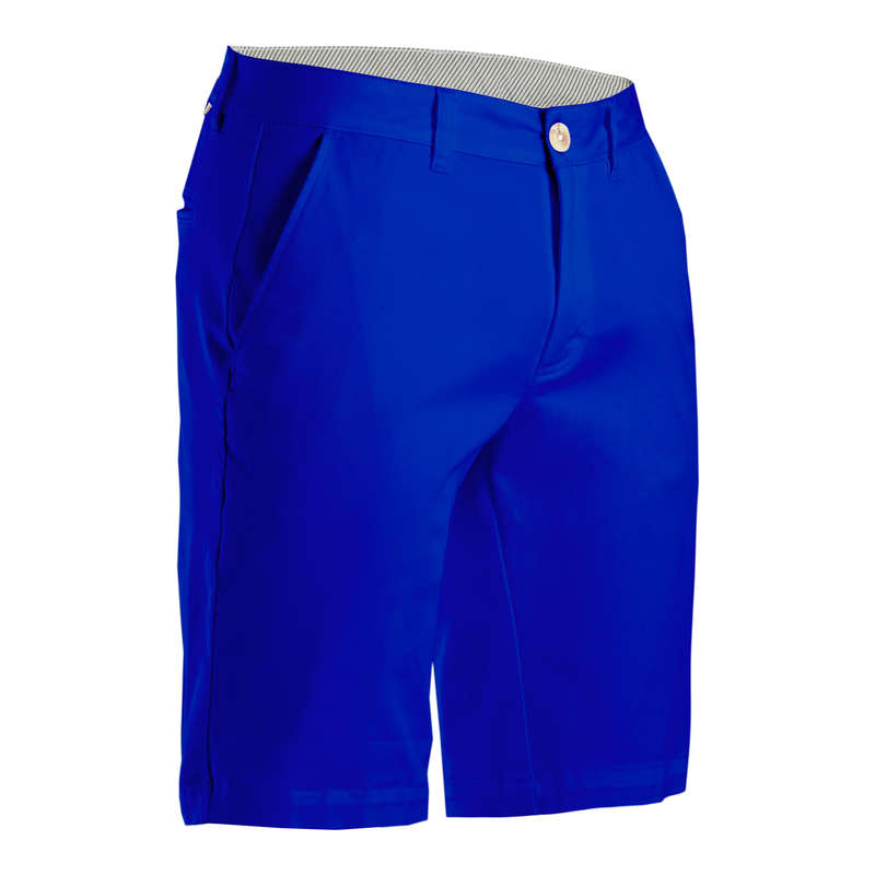 [EN] MEN GOLF SHORTS MILD WEATHER Imbracaminte - Bermude Golf Albastru Bărbați INESIS - Pantaloni