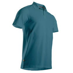 Men's Golf Short Sleeve Polo Shirt - Turquoise
