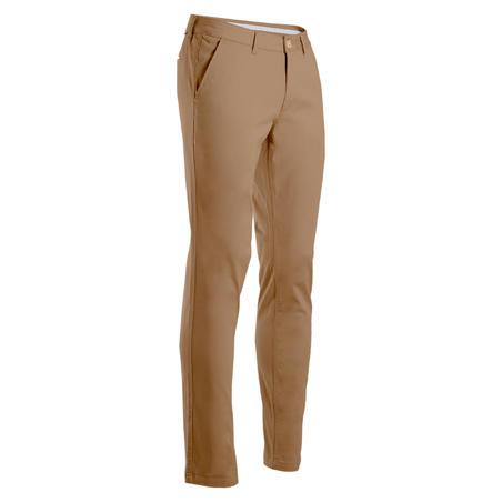 Men's Golf Trousers - Beige