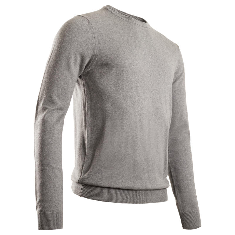 Men's Golf Pullover - Grey