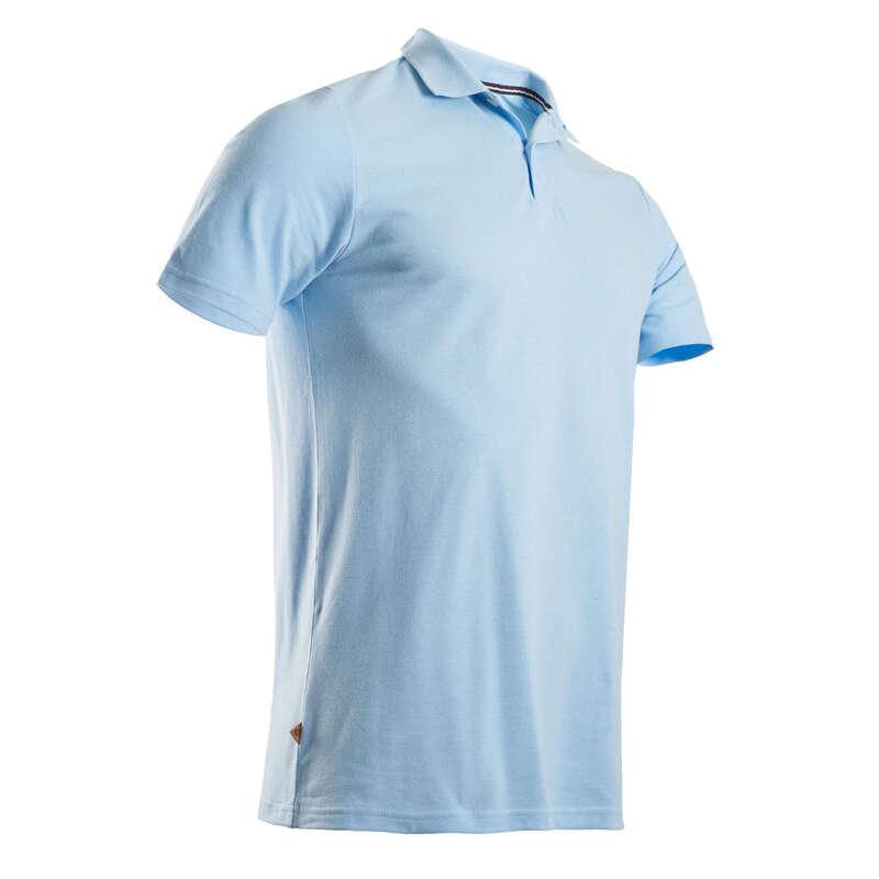 FÉRFI GOLFRUHÁZAT ENYHE ID#RE Golf - Férfi golfpóló, kék INESIS - Golfruházat, Golf cipő, Golf kesztyű