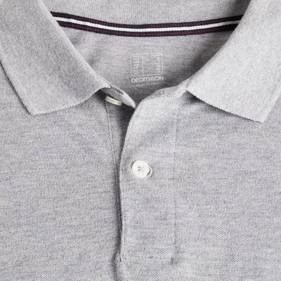 Camiseta Polo Manga Corta Golf Hombre Gris