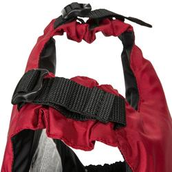 Zwemvest Easy 50N rood voor zwaardboot, kajak, SUP RTM