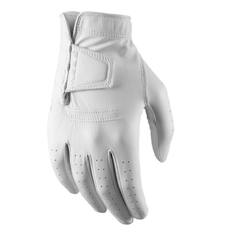 Golfhandschoen voor heren linkshandig wit