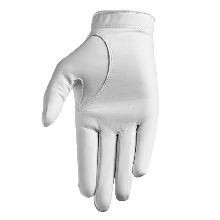 Gant de golf tour femme gauchère blanc