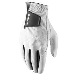 Golfhandschoen voor heren linkshandig WW wit