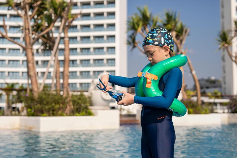 Kids' Inflatable Swim Vest - Green