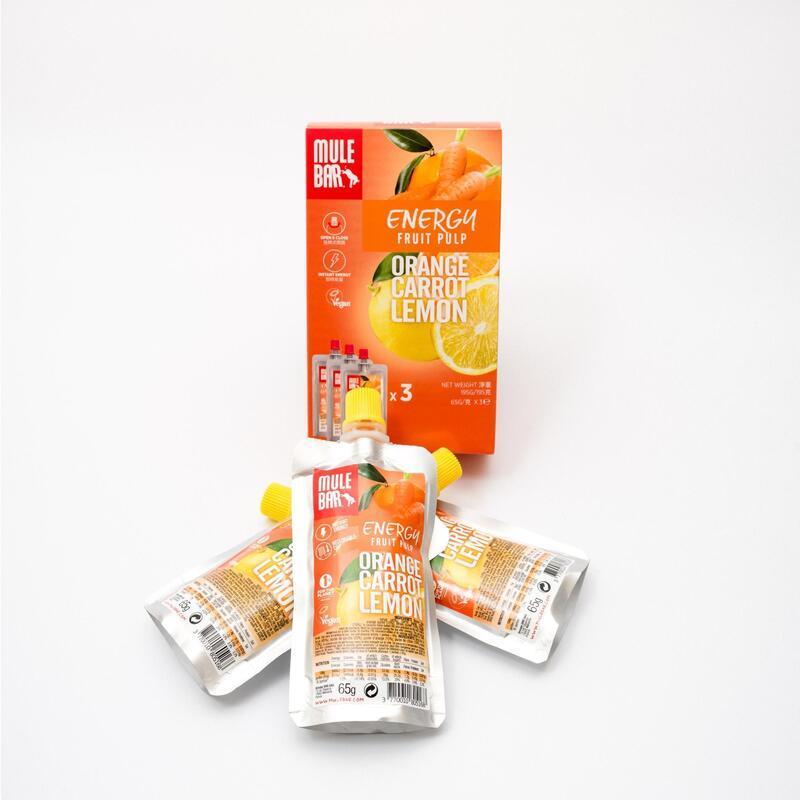 有機果泥(橙味、胡蘿蔔味、檸檬味)